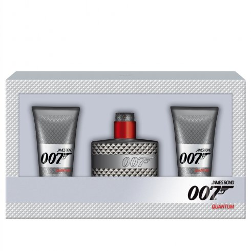 James Bond 007 Quantum Gift Set 50ml EDT + 2x 50ml Shower Gel