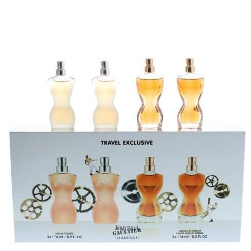 Jean Paul Gaultier Classique Gift Set 2 x 6ml EDT + 2 x 6ml Essence de Parfum
