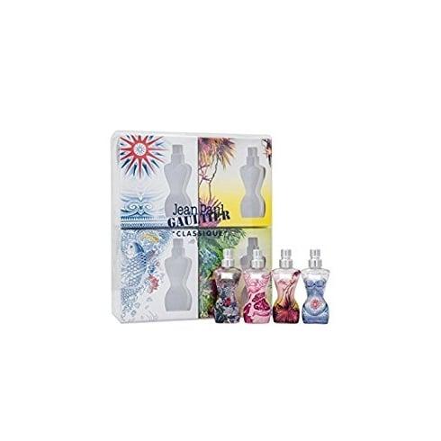 Jean Paul Gaultier Classique Summer Gift Set 4 x 3.5ml EDT Mini