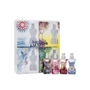 Jean Paul Gaultier Classique Summer Gift Set 4 x 3.5ml EDT Mini