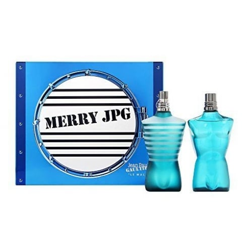 Jean Paul Gaultier JPG LE MALE MERRYJPG EDT 125ML &   A/S LOTION 125ML