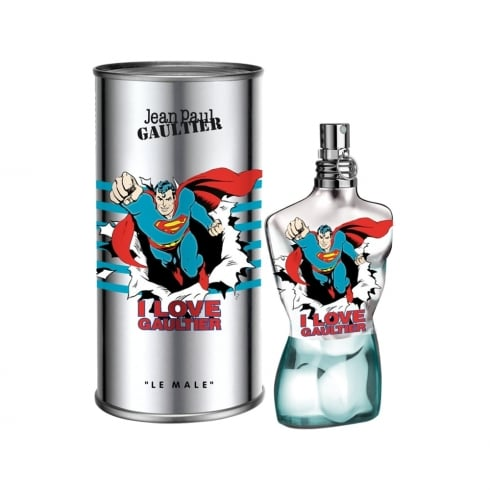 Jean Paul Gaultier Le Male Eau Fraiche Superman 75ml EDT Spray
