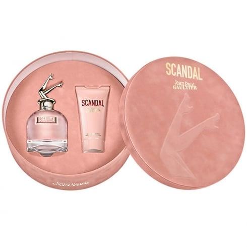 Jean Paul Gaultier Scandal 80ml EDP Spray / 75ml Perfumed Body Lotion