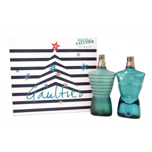 Jean Paul Gaultier XMAS Tree Le Male Gift Set - 125ml EDT + 125ml Aftershave Lotion