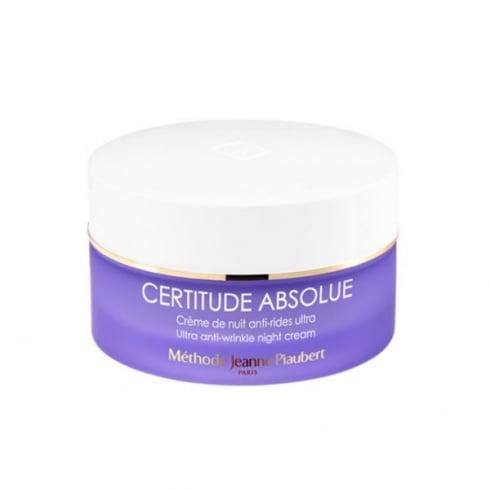 Jeanne Piaubert Certitude Absolue  Anti Wrinkle Night Cream 50ml