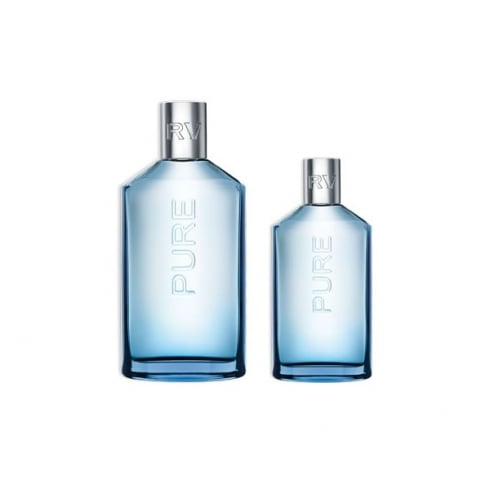 Jesus Del Pozo Rv Pure Man Icy EDT Spray 150ml Set 2 Pieces