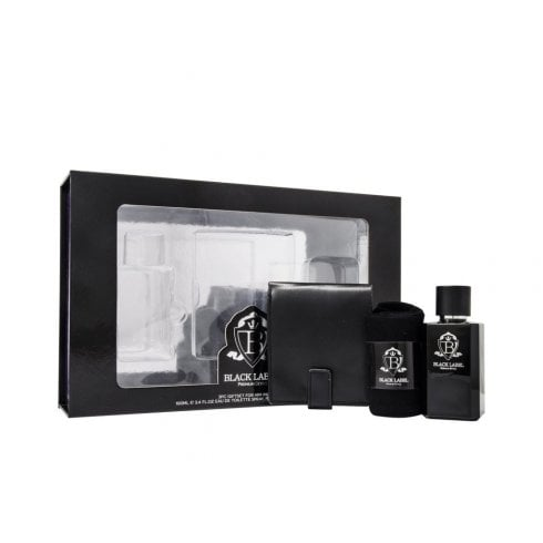 Black Label Jigsaw Black Label 100ml Edt + Socks + Wallet Set