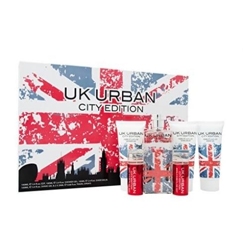 Jigsaw UK URBAN 6 PIECE GIFT SET 100ML EDT100ML EDT+ 100ML S/GEL+100ML S/BALM