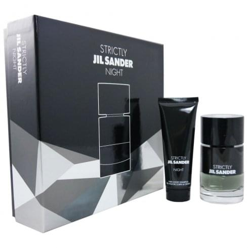 Jil Sander Strictly Night Gift Set 40ml EDT + 75ml Shower Gel