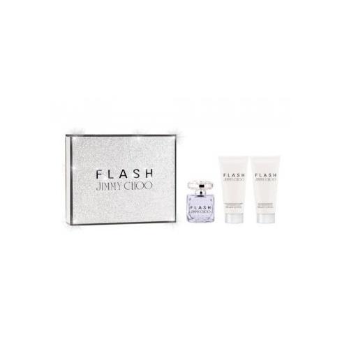 Jimmy Choo Flash 100ml EDP / 100ml Perfumed Body Lotion / 100ml Perfumed Shower Gel