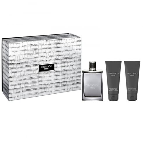 Jimmy Choo Man EDT Spray 100ml Set 3 Pieces 2017