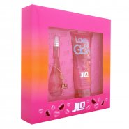JLO Jennifer Lopez Love at First Glow Gift Set 30ml EDT Spray + 200ml Bath & Shower Gel