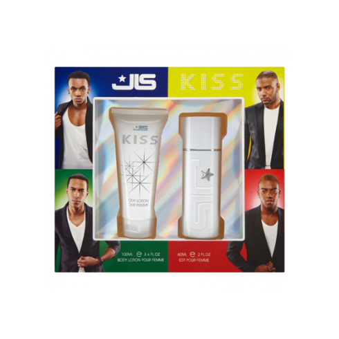 JLS Kiss Pour Femme 60ml EDT Spray / 100ml Body Lotion
