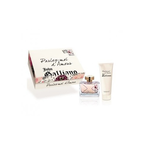 John Galliano Parlez-Moi d'Amour Gift Set 50ml EDT Spray + 125ml Body Lotion