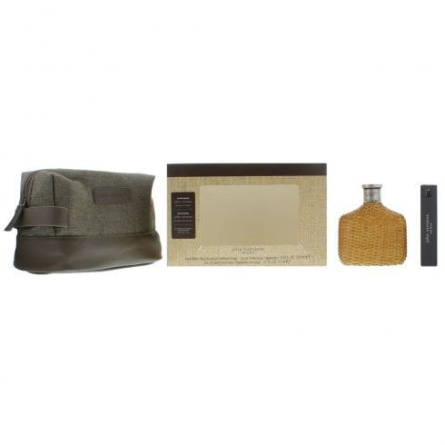 John Varvatos J Varvatos Vintage EDT 125ml & EDT 17ml & EDT 1.5ml & Toiletry Bag