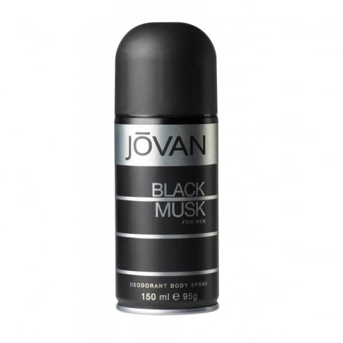 Jovan Black Musk Deodorant Spray 150ml