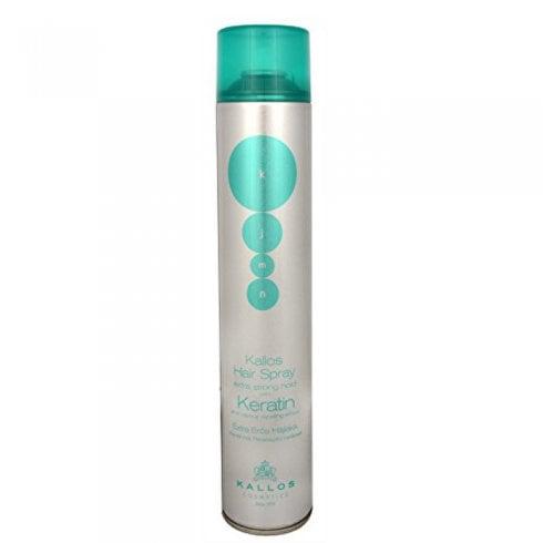 Kallos Hair Spray Extra Strong Keratin 750ml
