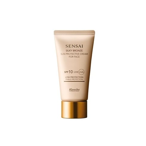 Sensai Kanebo Sensai Silky Bronze Sun Protective Cream For Face SPF10 50ml