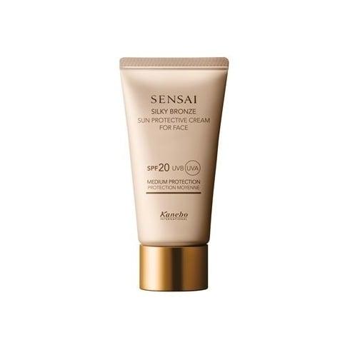 Sensai Kanebo Sensai Silky Bronze Sun Protective Cream For Face SPF20 50ml