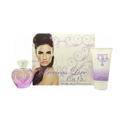Katie Price Precious Love Gift Set 50ml EDP + 150ml Shimmering Body Lotion