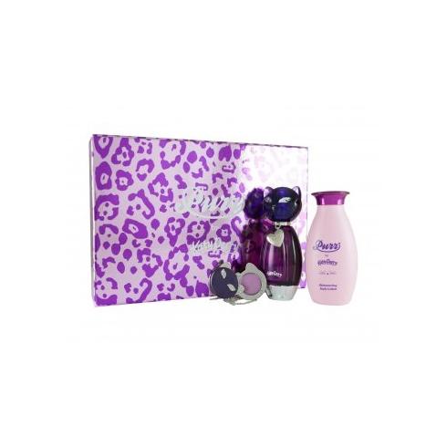 Katy Perry Purr Gift Set 50ml EDP + 120ml Body Lotion + Solid Perfume Locket