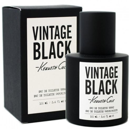Kenneth Cole Vintage Black 100ml EDT Spray