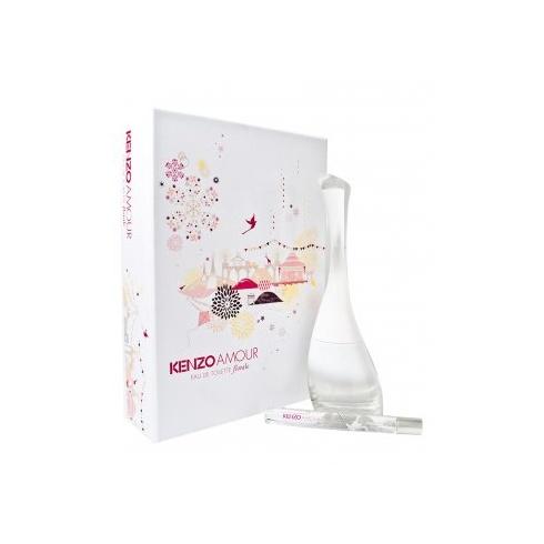 Kenzo Amour Florale Gift Set 85ml EDT + 10ml Mini EDT