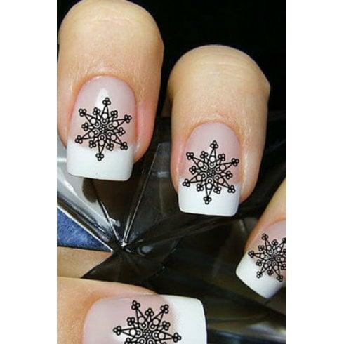 Kids Frozen Sisters & Snowflake Nail Treat Set