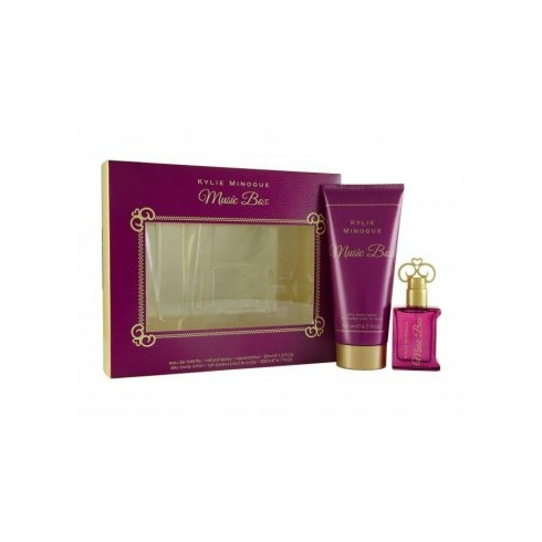 Kylie Minogue Music Box 30ml EDT Spray / 200ml Silky Body Lotion