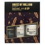 Label M Label.m Honey & Oat Gift Set 300ml Shampoo + 300ml Conditioner + 120ml Hair Mask