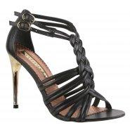 Moda in Pelle Ladies Leah Shoes - Black