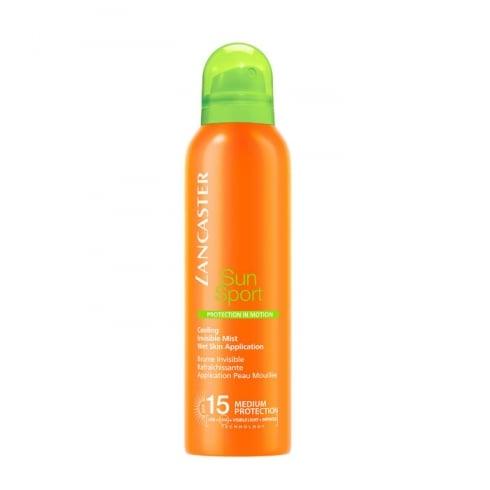 Lancaster Sun Sport Cooling Invisible Mist Wet Skin Application SPF15 200ml