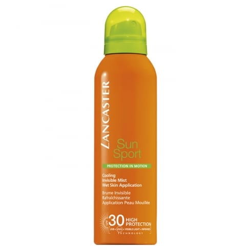 Lancaster Sun Sport Cooling Invisible Mist Wet Skin Application SPF30 200ml