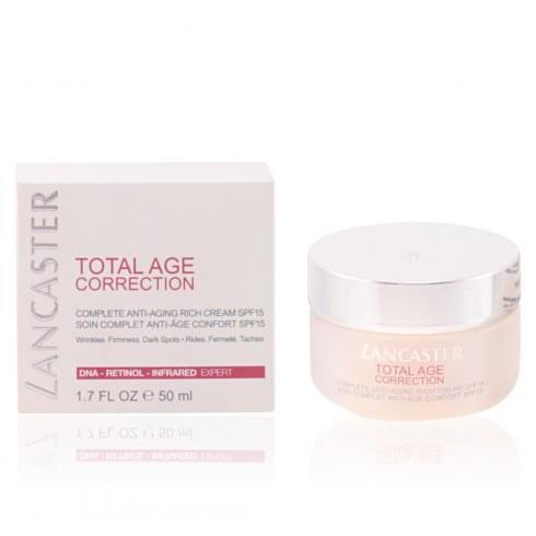 Lancaster Total Age Correction Anti-Ageing Day Cream SPF15 15ml