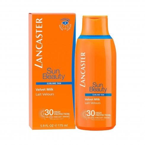 Lancaster Velvet Milk 50ml SPF30 & Tan Maximizer 50ml & Sun Sensitive