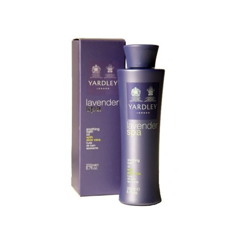 Yardley Lavender Spa Soothing Bath Oil 200ml