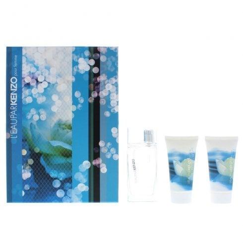 Kenzo Leau Par Kenzo Edt 50ml & S/Gel 40ml & S/Gel 40ml