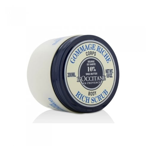 L'Occitane Occitane Shea Butter Rich Body Scrub 200ml