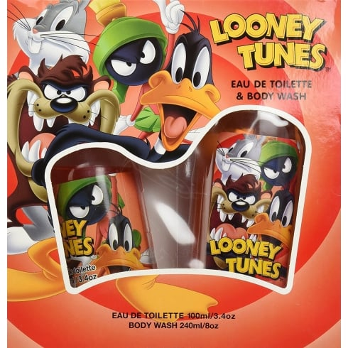 Looney Tunes Gift Set - 100ml EDT + 240ml Body Wash