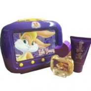 Looney Tunes Lola Bunny 50ml EDT Spray / 75ml Shower Gel / Tin