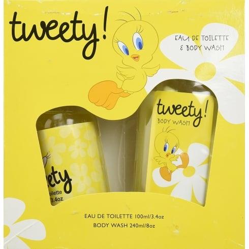 Looney Tunes Tweety Bird Gift Set EDT 100ml + Body Wash 240ml
