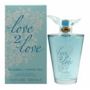 Love2Love Bluebell + White Tea EDT 100ml Spray