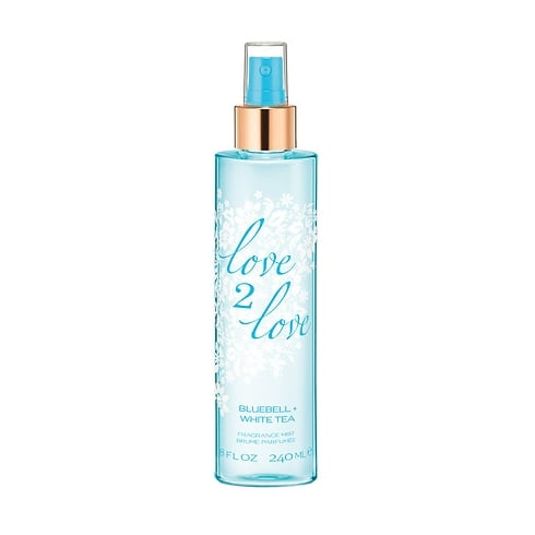 Love2Love Bluebell + White Tea Fragrance Mist 240ml
