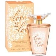 Love2Love Orange Blossom + White Musk EDT 100ml Spray