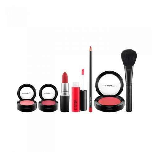 Mac Look In A Box Red RoCKer Kit Visage Complet X7