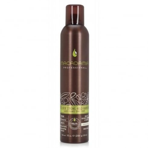Macadamia Style Lock Strong Hold Hairspray 284g
