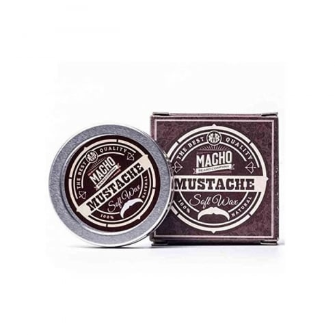 Macho Beard Company Mustache Soft Wax 15ml