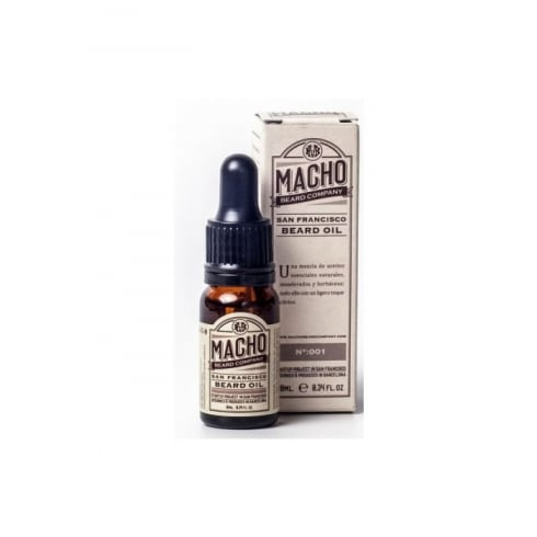 Macho Beard Company San Francisco Beard Oil 10ml