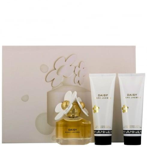 Marc Jacobs Daisy 50ml EDT Spray / 75ml Shower Gel / 75ml Body Lotion