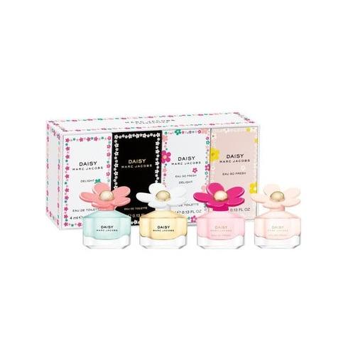 Marc Jacobs Daisy, Daisy Delght, Daisy Eau So Fresh,Eau So Fresh Delights 4pc Mini Set